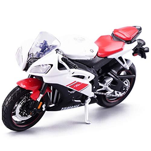 Modelo de Moto 1:18 Yamaha-YZF-R6 Modelo de Motocicleta Colección de