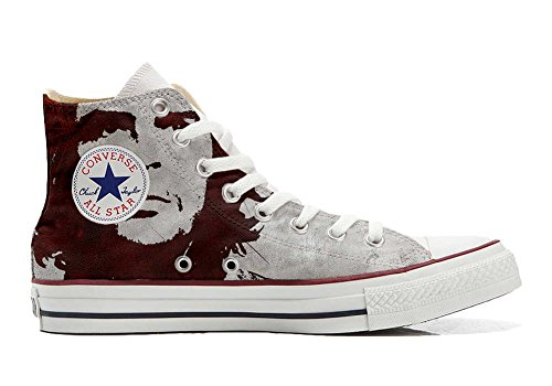 Converse Customized Chaussures Coutume (produit artisanal) El Che