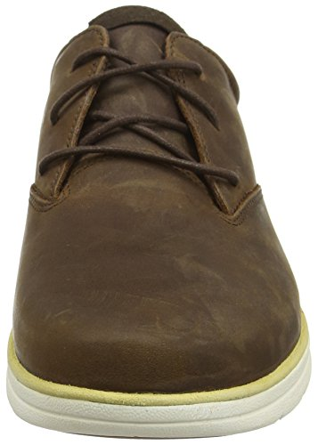 Timberland Plain Toe, Scarpe Stringate Basse Oxford Uomo Marrone