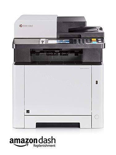 Kyocera Ecosys M5526cdn Farblaser Multifunktionsdrucker: Drucker, Kopierer, Scanner, Faxgerät. Inkl. Mobile-Print-Funktion. Amazon Dash Replenishment Funktion