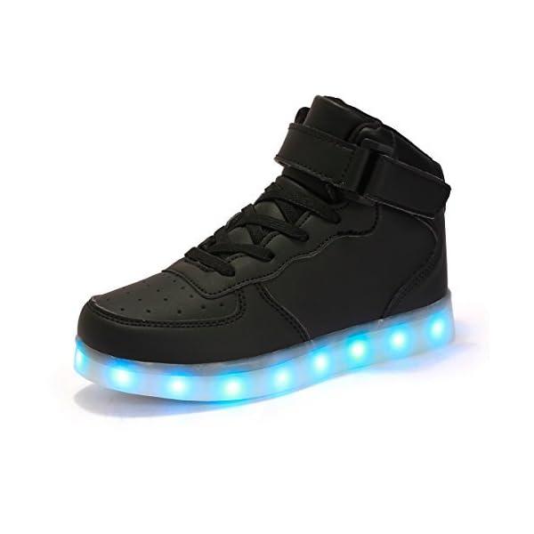 a08b9301090b73 FLARUT Hoch Oben USB Aufladen LED Leuchtend Leuchtschuhe Blinkschuhe ...