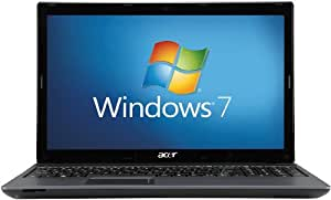 Acer Aspire 5250 15.6 inch Laptop (AMD E300 1.3GHz, 4GB RAM, 500GB HDD, DVD-SM DL, LAN, WLAN, Webcam, Windows 7 Home Premium 64-Bit)