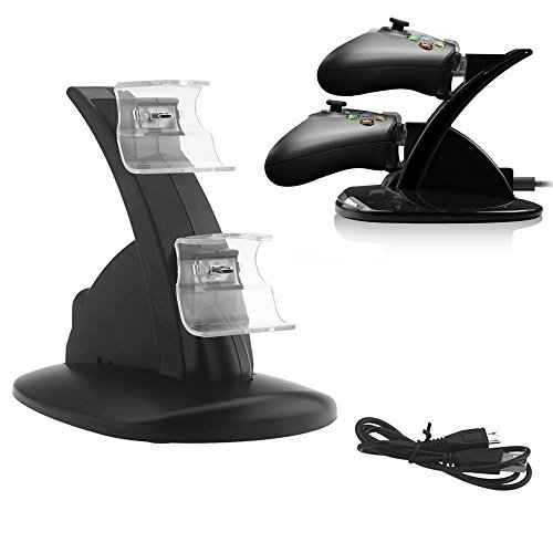 Xbox one Compatible Controller Charger ~ Fast Charging Stand ~ LED Charger...