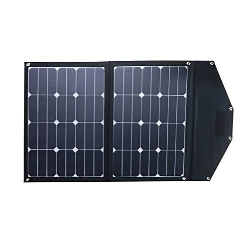 Comprajunta pannello solare pieghevole 70w, uscita 17.6v 3970ma per alimentatore portatile, 8 protezioni intelligenti, design impermeabile per il campeggio e l'escursionismo