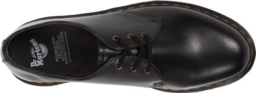 Dr. Martens 1461 Vegan 1461 Vegan Black, Chaussures de ville mixte adulte Noir (Black)