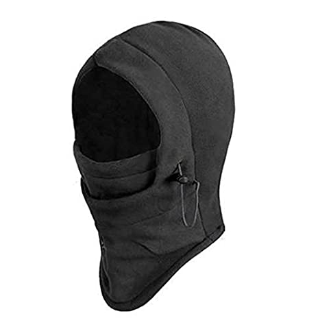 6 in 1 Thermal Fleece Balaclava Hood Police Swat Ski Bike Wind Stopper Face Mask