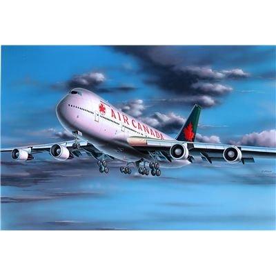 Revell Modellbausatz Flugzeug 1:390 - Boeing 747-200 im Maßstab 1:390, Level 3, originalgetreue Nachbildung mit vielen Details, Zivilflugzeug, Passagierflugzeug, 04210
