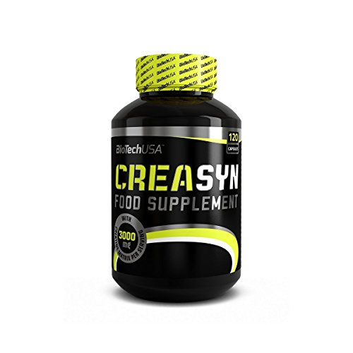 BioTech USA Creasyn 120 Caps Creatine HCL Kre Alkalyn Matrix
