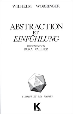 Abstraction et Einfhlung