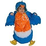Dress Up America - Bebé pájaro, disfraz talla 0-12 meses, color azul (404-12mo)