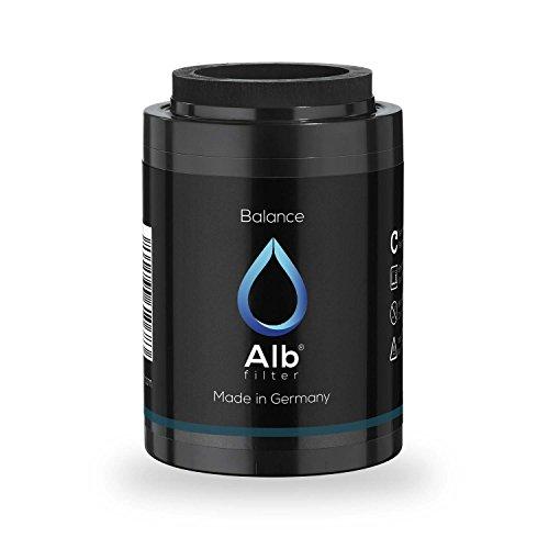 Alb Filter® Balance Duschfilter Ersatzkartusche für gesunde Haut und Haare. Reduziert Schadstoffe. Made in Germany -