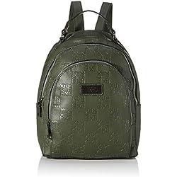 XTI 86141, Bolso mochila para Mujer, Verde (Kaki), 23x30x10 cm (W x H x L)