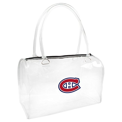 Littlearth NHL Montreal Canadiens Damen Bowler Handtasche, One size, transparent