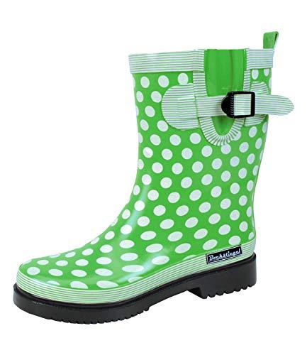 Bockstiegel Damen Stiefel Dorin-K grün 622621 (Stiefel Trendige Für Frauen)