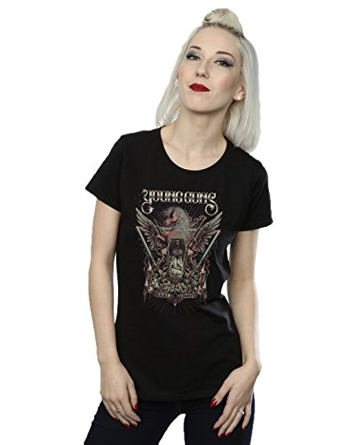 Young Guns Femme Dearly Departed T-Shirt Noir