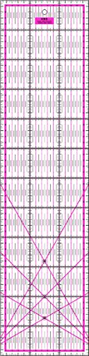 Patchwork Lineal 60x15 cm Pink