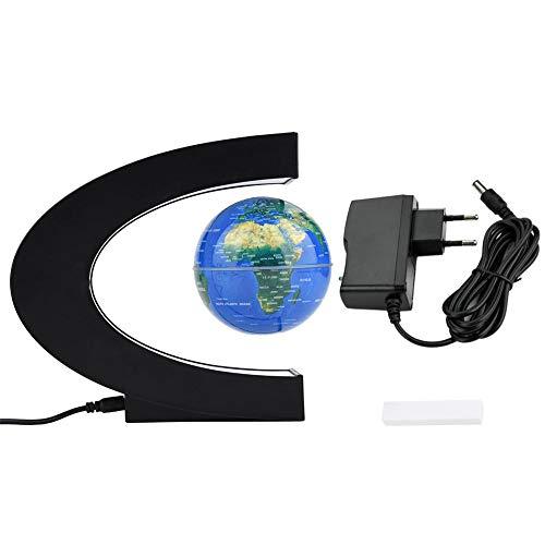 Fdit Globe Globe Terrestre con Levitación Magnética Flotante Globo Terráqueo con luz LED