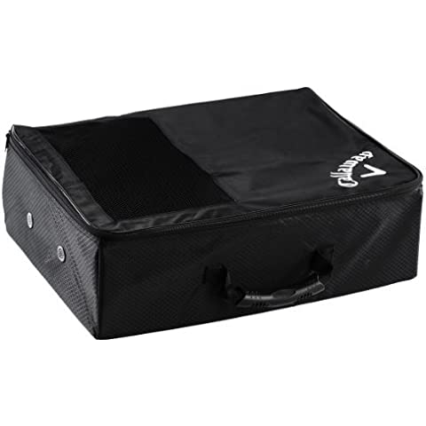 Callaway Trunk Locker Compact Shoe and Kit Valet - Black by Callaway
