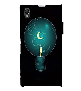 EPICCASE Top of World Mobile Back Case Cover For Sony Xperia Z1 (Designer Case)