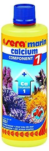 sera 03417 marin Component 1 Ca 500 ml - Enthält wichtiges Calcium für den Skelettaufbau von Korallen und andere Niederen Tieren