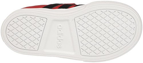 adidas Vs Set Cmf Inf, Sneakers Basses Mixte Enfant Rouge (Scarle/cblack/ftwwht)