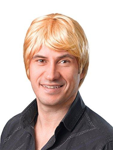 Bristol Novelty bw069kurz Blond Männlich Perücke, eine ()