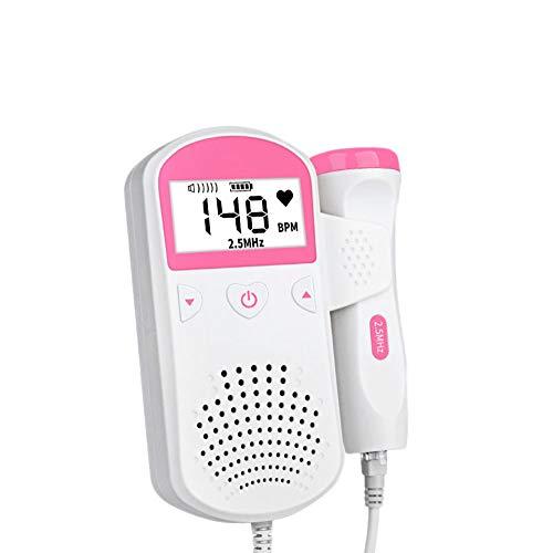 Wpyy Doppler Hör mal zu Baby Monitor Fetal Monitor Richtiger Test  Medizinisch Keine Strahlung Schwanger Frau Haushalt Beschleunigt das Stethoskop -