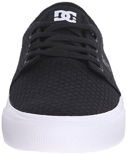 DC - Trase Tx M Shoe Frn, Sneaker basse Uomo Black Textile