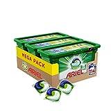 Ariel 3in1 Pods Vollwaschmittel, Mega Pack (3 x 38 Waschladungen)