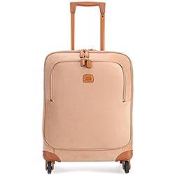 Brics Life S 13'' Maleta con 4 ruedas marrón anaranjado
