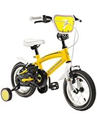 """SCUDERIA FERRARI Bicicleta Kid Team 14"""" Amarillo"""