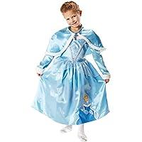 Rubie's - Disfraz de Princesa Disney Cenicienta, Invierno en Wonderland para niña, talla M (I-881850M)