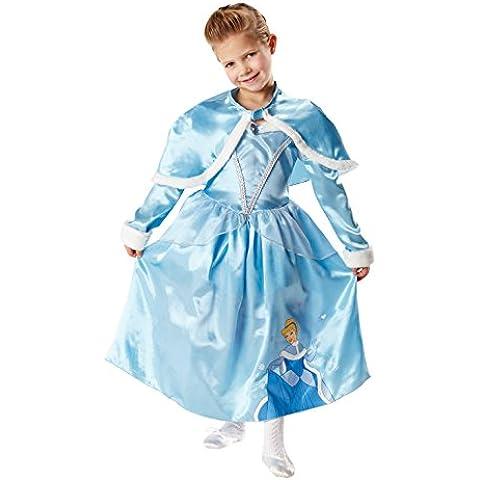 Rubie's - Disfraz de Princesa Disney Cenicienta, Invierno en Wonderland para niña, talla S (I-881850S)