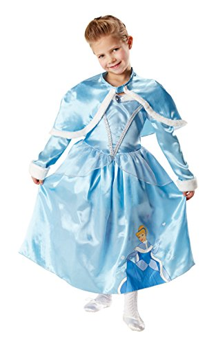 Rubie's 3881850 - Kostüm für Kinder - Cinderella Winter Wonderland, M (Winter Wonderland Fancy Dress Kostüm)