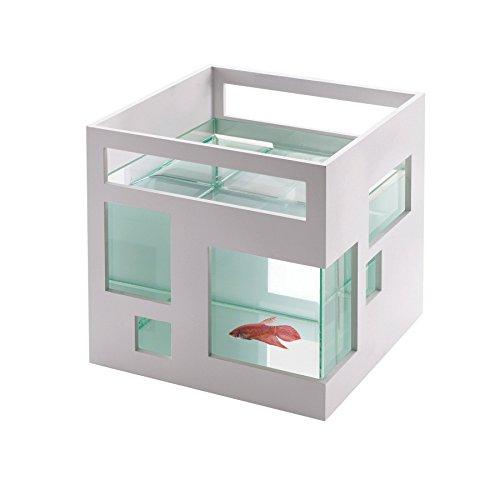 Umbra 460410-660 Fishhotel Aquarium, weiß