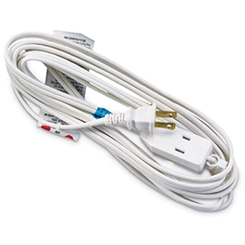 HO WAH GENTIN KINTRON SDNBHD Extension Cord, 16/2 SPT-2 White Polarized Cube Tap, 12-Ft.