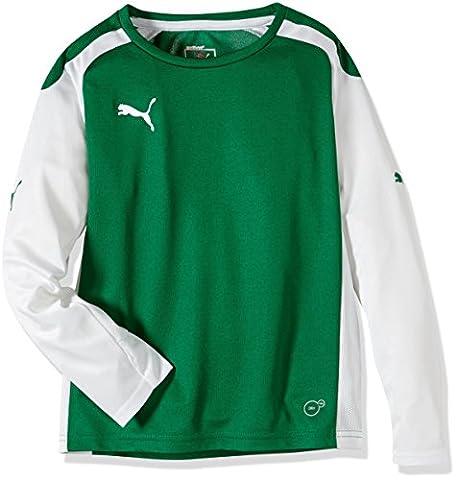 Puma Speed T-shirt à manches longues pour enfant 13-14 ans Vert - Vert/blanc