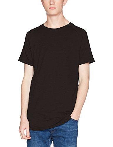 JACK & JONES Herren T-Shirt Jorcanzone Tee Ss Crew Neck Grau (Tap Shoe Fit:Slim)