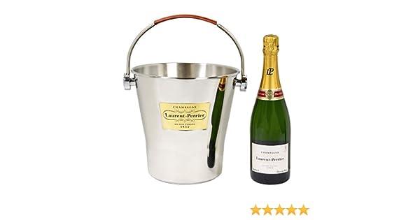 Case Moderne Minecraft : Champagnerkühler mit ledergriff 6 flaschen champagne laurent