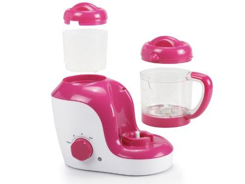 Topcom KF-4310 Babynahrungszubereiter – Blend und Cook, rot/weiß - 4