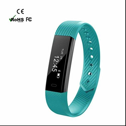 Pulsmesser Fitness Armband Aktivitätstracker Kalorienzähler Kilometerzähler Smart Fitness Tracker Mit Schlaf Monitor Sedentary Reminder Bluetooth Armband Uhr Mit Nachricht Reminder Und Anti Verloren