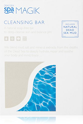Facial Cleansing Bar (Dead Sea Spa Magik Organic Cleansing Bar 100g)