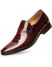 Leder Lackleder Business Anzüge Schuhe Herren England Hochzeitsschuhe 259c2321fa