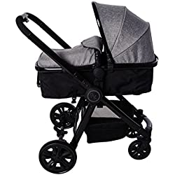 Red Kite 3-in-1 Fusion Travel System, Woven Grey