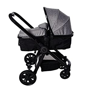 Red Kite 3-in-1 Fusion Travel System, Woven Grey   15