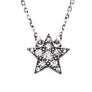 Cath Kidston Single Pendant Necklace - Star - A.Silver