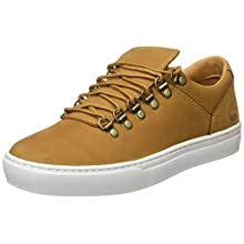 Timberland Men's Adventure 2.0 Cupsole Alpine Oxford Low-top Sneakers, Wheat Nubuck, 8 UK 42 EU