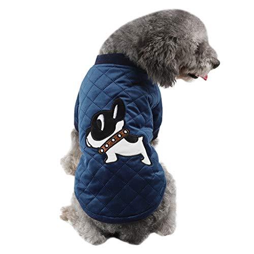 Malloom Hund T-Shirt Pullover Herbst Winter warme Bequeme Mode Haustier Kleid Strickjacke Strickwaren -