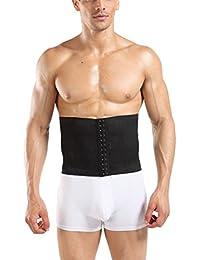 Hombre s Deportes Ceñidores Corsé Control De Abdomen Cintura Cinturón De Entrenador Rpu7y1kWJ5