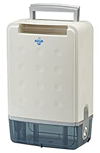 Aqua Dry Large Quiet Desiccant Dehumidifier 7 Litre Capacity Includes Air Ioniser Perfect
